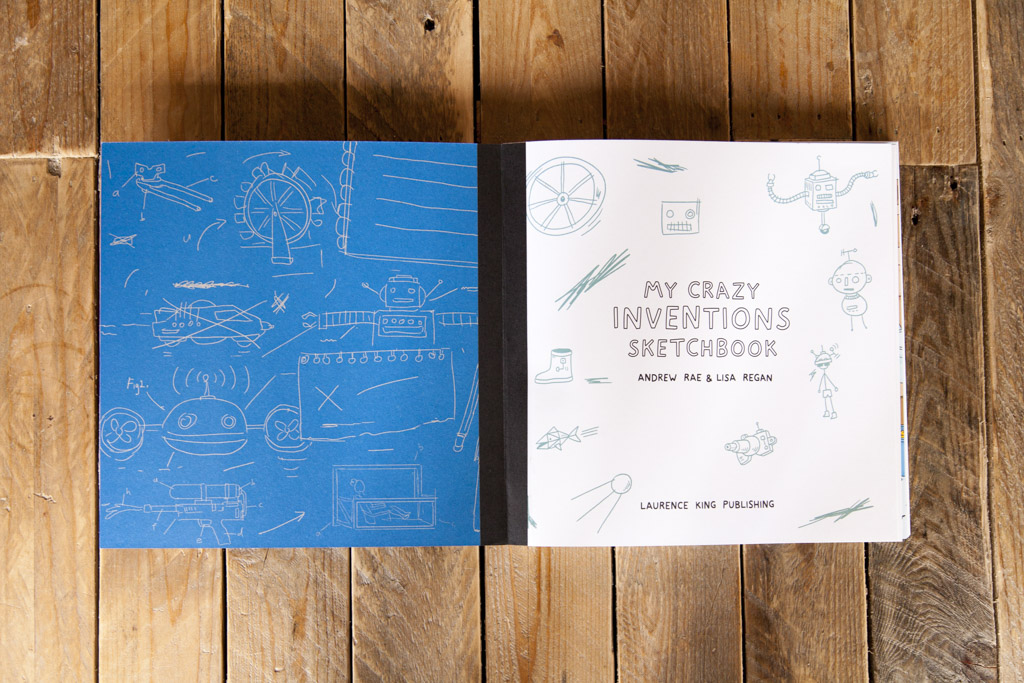My Crazy Inventions Sketchbook Book Review Offset
